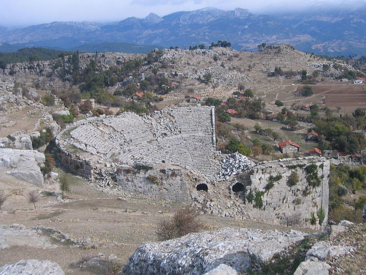 Selge, Pisidia - Wikipedia