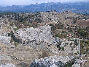 Selge, Pisidia - Roman theatre of Selge