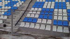 Selman Stërmasi Stadium - Image: Selman Stërmasi Stadium (4)