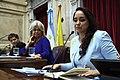 Senado Argentino distingue a Gabriela Rivadeneira 02.jpg