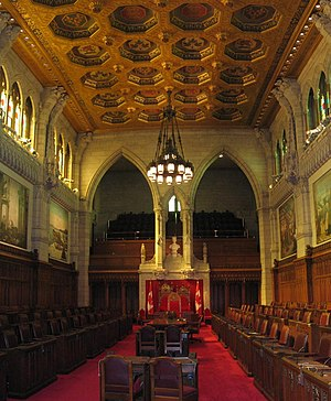 39th Canadian Parliament - The government introduced multiple bills to reform the Senate of Canada, none of which became laws.