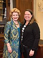 Senator Stabenow meets with Kelly Huhn, an advocate from the Pediatric Congenital Heart Association (32361068483).jpg