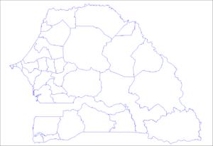 Departements Du Senegal Wikipedia