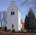 Sengeloese Kirke Hoeje Taastrup Denmark belfry.jpg