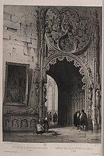Sepulcro en el monasterio del Parral de Segovia, de Jenaro Pérez Villaamil.jpg