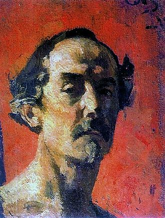 Sergey Malyutin - Self-portrait (1918)