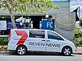 Seven Network News broadcasting van, Brisbane, 2020.jpg
