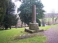 Shaft of Churchyard Cross, Much Cowarne - geograph.org.uk - 97977.jpg