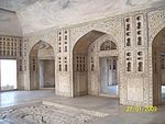 Agra Fort: Shahjahan's apartment