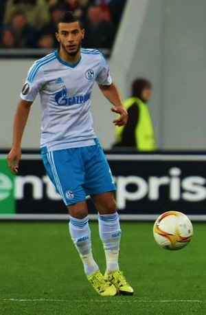 Younès Belhanda - Belhanda with Schalke 04