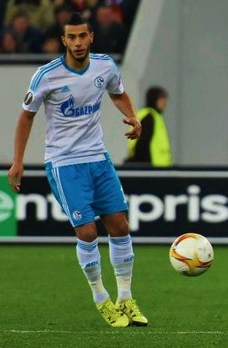 Younès Belhanda - Belhanda with Schalke 04