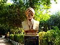 Sharaf Khan Bidlisi Statue at Slemani Public Park.jpg
