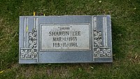 Sharon Lee Westerfeld's gravestone at Evergreen Cemetery in Colorado Springs