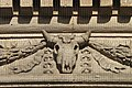Sheep's (or Cow's?) Skull on the Corn Exchange (Taken by Flickr user 18th September 2012).jpg