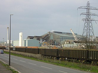 Sheerness - Sheerness steel mill