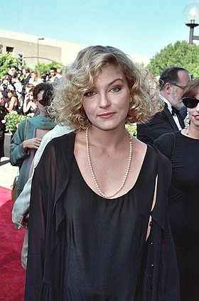 Sheryl Lee en 1990, l'interprète de Laura Palmer.