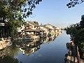 Shihe River from Qingfengqiao Bridge in Fengjing Town (east).jpg