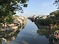 Shihe River from Qingfengqiao Bridge in Fengjing Town (east) 2.jpg