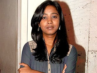 Shilpa Rao - Rao at a press meet to promote Salim–Sulaiman concert, 2010