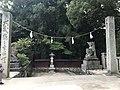 Shimmon Gate near Honden of Itsukushima Shrine.jpg