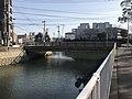 Shin-Mishimabashi Bridge on Hamaogawa River.jpg