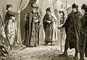 Kera Tamara - Tsar Shishman delivers up his sister to sultan Murad I