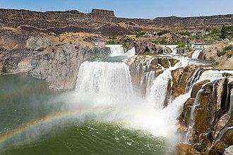 Snake River - Shoshone Falls near Twin Falls, Idaho