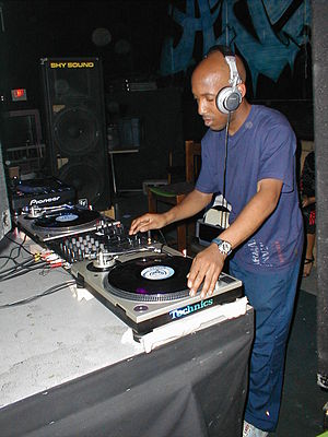 Shy FX - Shy FX in 2004 at a rave in Springfield, Massachusetts.