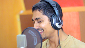 Siddharth (actor) - Siddharth at TeachAIDS recording session in 2013