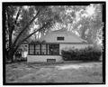 Side elevation, east facing - J.W. Mann House, 1918 Dresden Drive, Chamblee, Decatur County, GA HABS GA-2389-6.tif