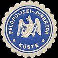 Siegelmarke Feldpolizei - Direktor - Küste W0239473.jpg