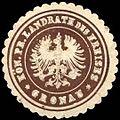 Siegelmarke Königlich Preussischer Landrath des Kreises - Gronau W0256070.jpg