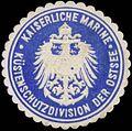 Siegelmarke K. Marine Küstenschutzdivision der Ostsee W0357559.jpg