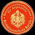 Siegelmarke Reichsversicherungsanstalt für Angestellte - Rentenausschuss Berlin W0219327.jpg