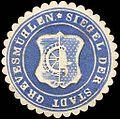 Siegelmarke Siegel der Stadt Grevesmühlen W0219440.jpg