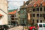"File:Sierck-les-Bains, the square ""Place Jeanne d´Arc"".jpg"