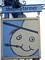 Sign for the Jolly Farmer - geograph.org.uk - 693969.jpg