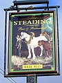 Sign for the Steading - geograph.org.uk - 1532257.jpg