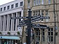 Signpost in Durham City Centre - geograph.org.uk - 997587.jpg