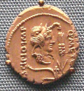 Quintus Caecilius Metellus Pius Scipio Nasica 1st century BC Roman politician and general, leader of the Optimates against Julius Caesar