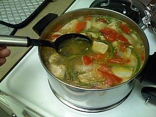 Sinigang Filipino tamarind soup