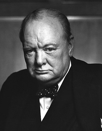 1945 United Kingdom general election - Image: Sir Winston Churchill 19086236948 (cropped 2)