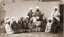 Sirdar Habibullah Gilzai and other Khans in 1879-80.jpg