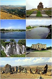 Sisian Town in Syunik, Armenia