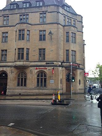 St Scholastica Day riot - Site of the Swindlestock Tavern