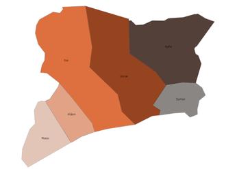 Sitti Zone - Map of Sitti Zone