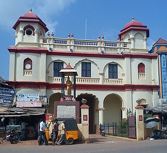 Sivaganga district - Entrance to the Velu Nachiar Palace, Sivaganga