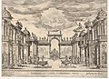 Sixth interlude- garden of Calypso (Intermedio sesto- giardino di Calipso), from the series 'Seven Interludes' for the wedding celebration of Cosimo de' Medici in Florence, 1608 MET DP832203.jpg