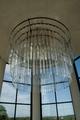 Skallsjö kyrka, ljuskronan i tornet.png