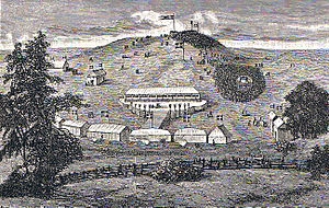 Skamlingsbanken - The first meeting at Skamlingsbanken, 18 May 1843